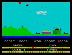 Harrier Attack ZX Spectrum 37
