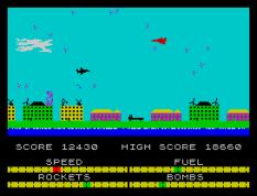 Harrier Attack ZX Spectrum 38