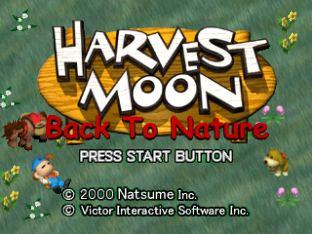 Harvest Moon PS1 001