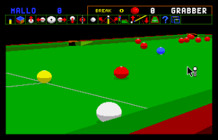 Jimmy White's Whirlwind Snooker Amiga 09