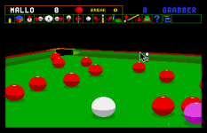 Jimmy White's Whirlwind Snooker Amiga 10