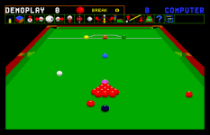 Jimmy White's Whirlwind Snooker Amiga 11