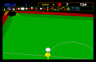 Jimmy White's Whirlwind Snooker Amiga 20