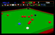 Jimmy White's Whirlwind Snooker Amiga 21
