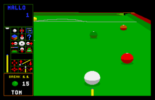 Jimmy White's Whirlwind Snooker Amiga 23