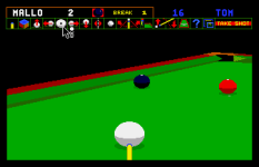 Jimmy White's Whirlwind Snooker Amiga 33
