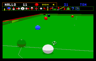 Jimmy White's Whirlwind Snooker Amiga 42