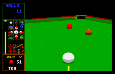 Jimmy White's Whirlwind Snooker Amiga 44
