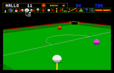 Jimmy White's Whirlwind Snooker Amiga 55