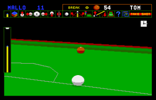 Jimmy White's Whirlwind Snooker Amiga 56