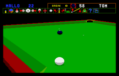 Jimmy White's Whirlwind Snooker Amiga 65