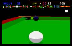Jimmy White's Whirlwind Snooker Amiga 66