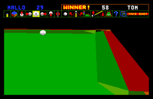 Jimmy White's Whirlwind Snooker Amiga 67