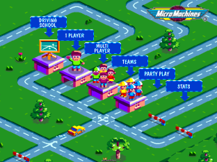 Micro Machines V3 PS1 001