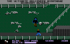 Midnight Mutants Atari 7800 40
