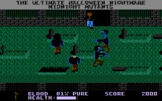 Midnight Mutants Atari 7800 52
