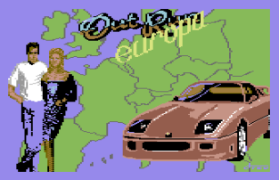 Out Run Europa C64 001