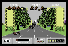 Out Run Europa C64 010