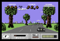 Out Run Europa C64 084