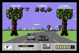 Out Run Europa C64 089