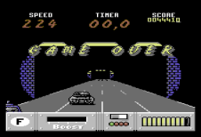 Out Run Europa C64 106