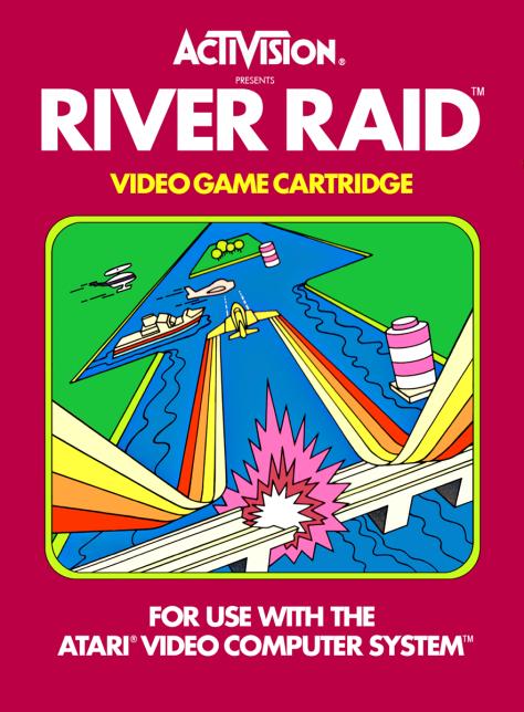 River Raid Box Art