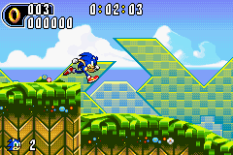 Sonic Advance 2 GBA 010