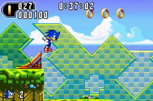 Sonic Advance 2 GBA 012