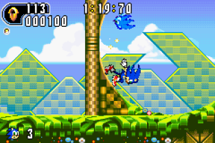 Sonic Advance 2 GBA 020