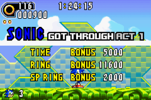 Sonic Advance 2 GBA 023