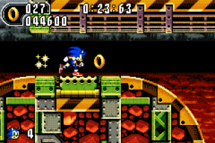 Sonic Advance 2 GBA 075