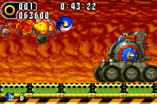 Sonic Advance 2 GBA 086