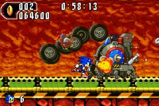 Sonic Advance 2 GBA 089