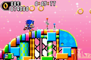 Sonic Advance 2 GBA 097
