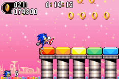 Sonic Advance 2 GBA 099