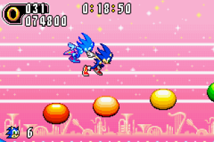 Sonic Advance 2 GBA 100
