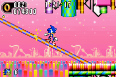 Sonic Advance 2 GBA 109