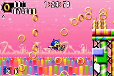 Sonic Advance 2 GBA 110