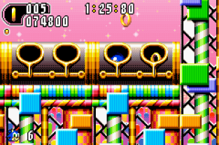 Sonic Advance 2 GBA 111