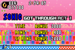 Sonic Advance 2 GBA 119