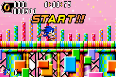 Sonic Advance 2 GBA 120