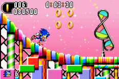 Sonic Advance 2 GBA 121