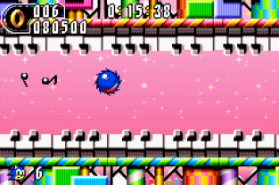 Sonic Advance 2 GBA 122