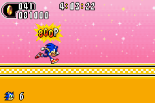 Sonic Advance 2 GBA 130
