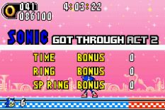 Sonic Advance 2 GBA 131