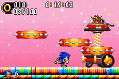 Sonic Advance 2 GBA 132