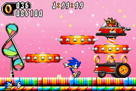 Sonic Advance 2 GBA 133