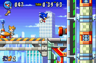 Sonic Advance 3 GBA 020