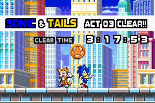 Sonic Advance 3 GBA 045