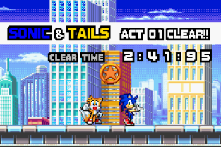Sonic Advance 3 GBA 064